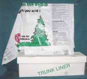 Car trunk Liners for nuseries and garden supply