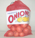 Open Mesh Onion Bag